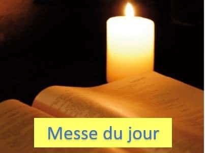 You are currently viewing Messe du jour