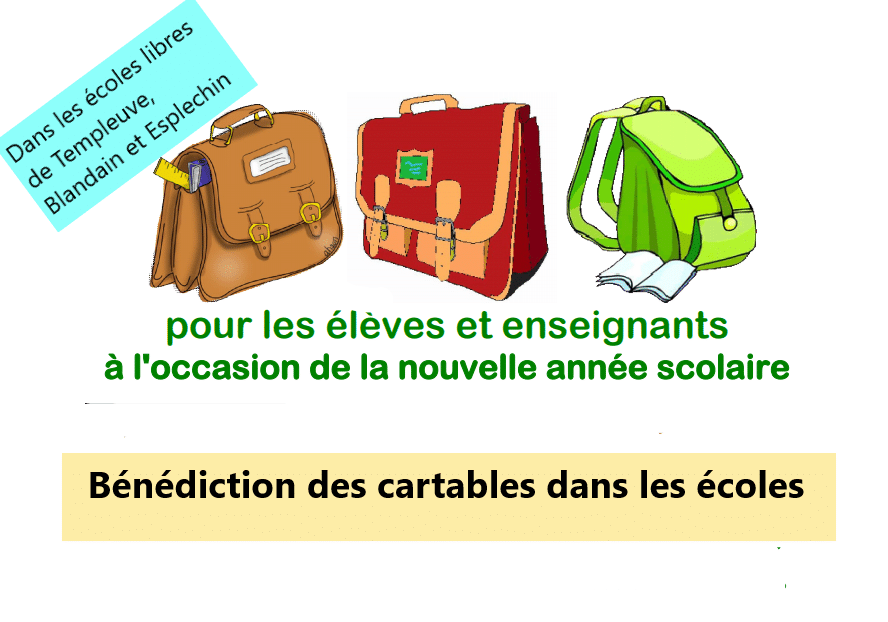 You are currently viewing Bénédiction des cartables