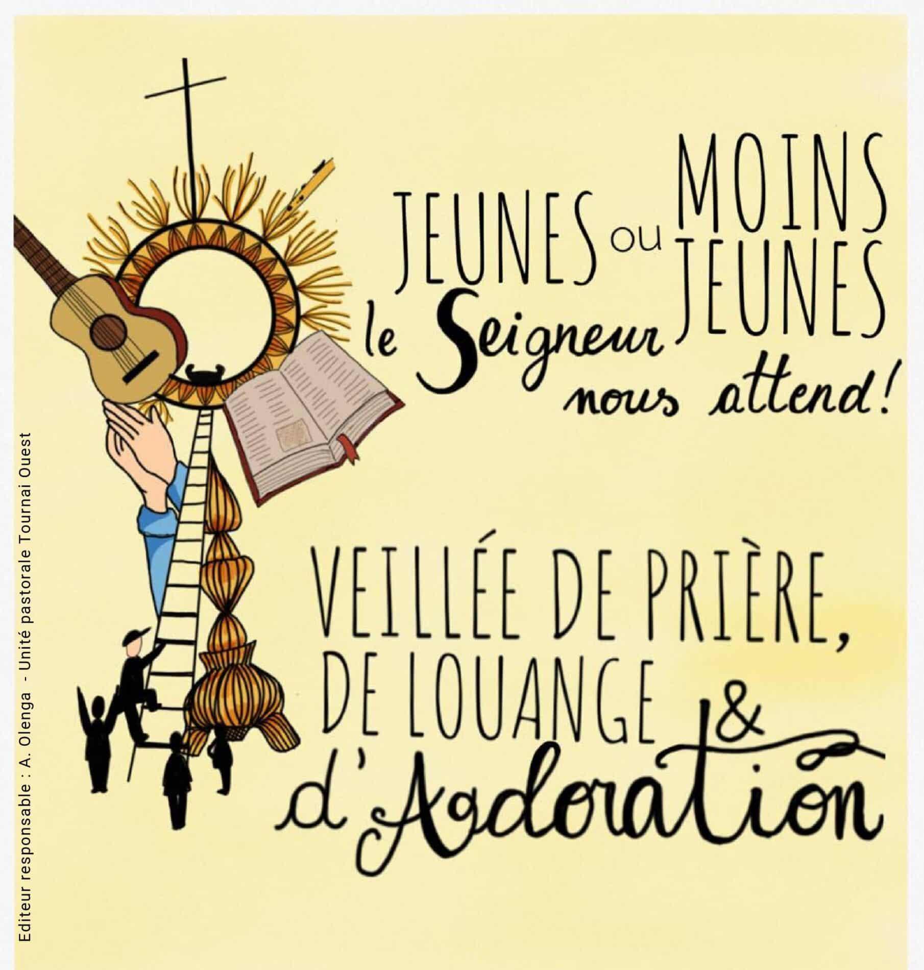 You are currently viewing Mercredi 14 octobre première veillée de prière à Marquain