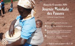 Journée Mondiale des Pauvres le 15 novembre