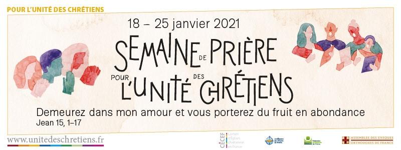 You are currently viewing Semaine de prière pour l'unité des chrétiens 2021