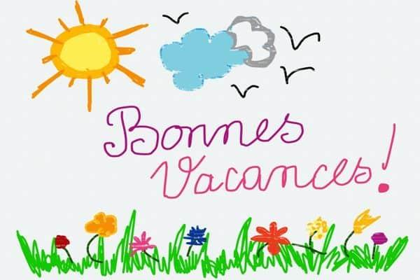 Read more about the article MERCI ET BONNES VACANCES