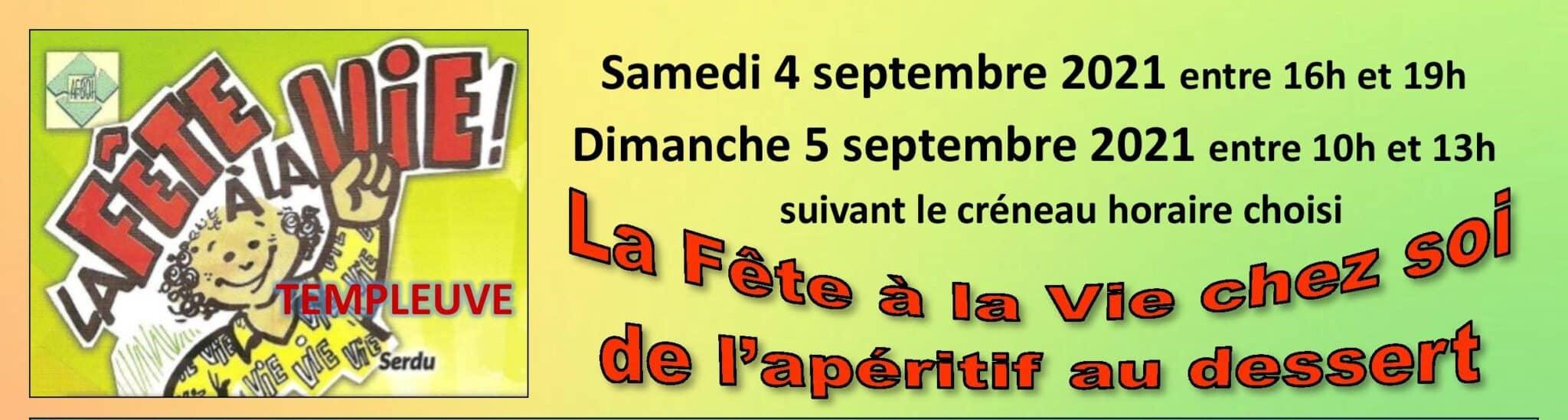 Read more about the article Fête à la Vie ces 4 et 5 septembre